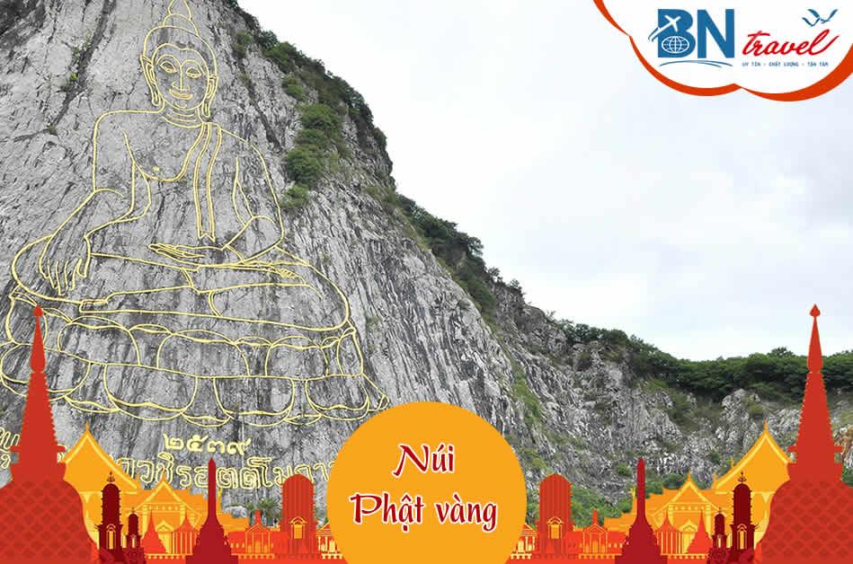 Khu vực núi Khao Chi Chan – Núi Phật Vàng
