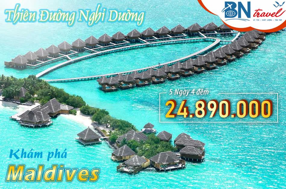 Du lịch Maldives thiên đường nghỉ dưỡng