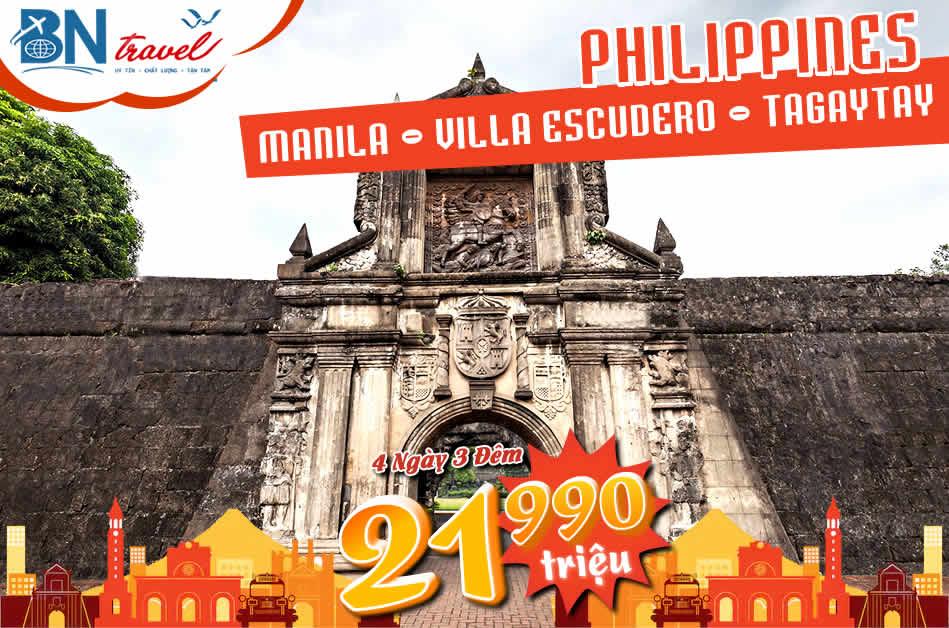 du lịch Philippines Manila
